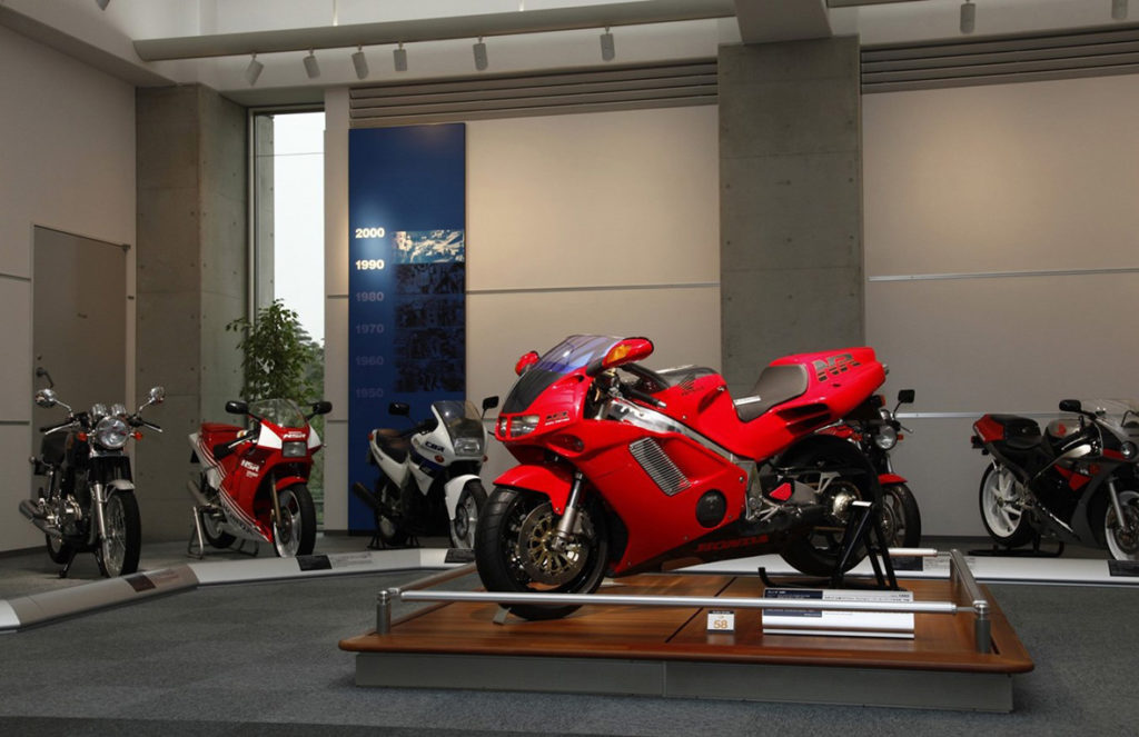 motos do Honda Collection Hall
